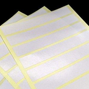 空白標籤-銅版紙